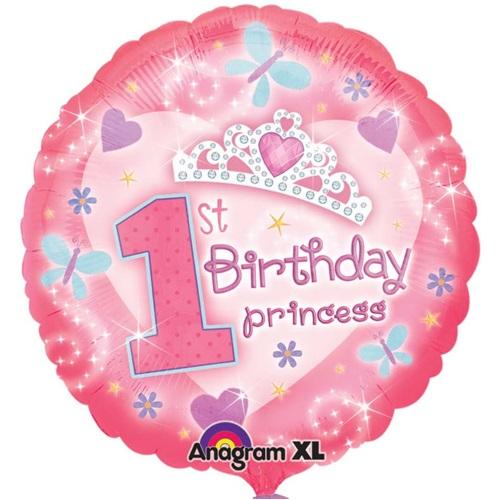 1 Yaş Temalı Doğum Günü Folyo Balon