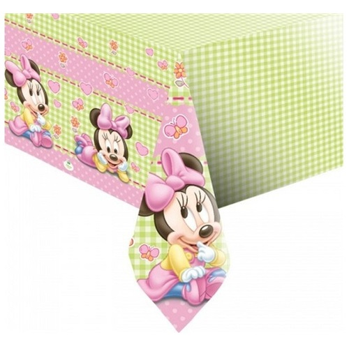 Baby Minnie Mouse Temalı Masa Örtüsü