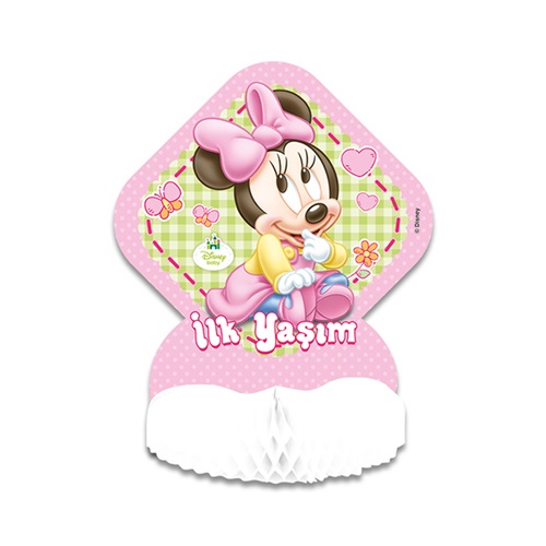 Baby Minnie Mouse Temalı Orta Süs
