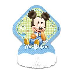 Baby Mickey Mouse Temalı Orta Süs