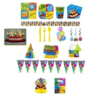Pastalı Doğum Günü Parti Seti 24 Kişilik Lüx