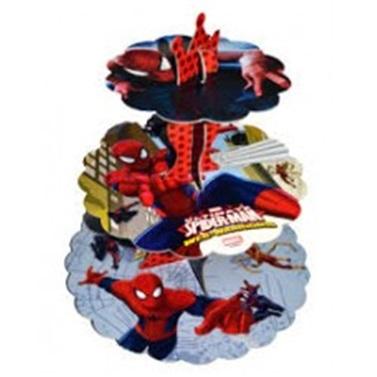 Spiderman Temalı Cupcake Standı
