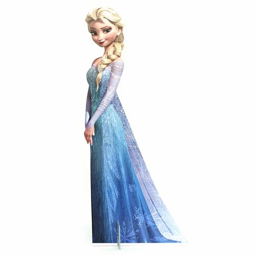 Karlar Ülkesi Elsa Ayaklı Pano