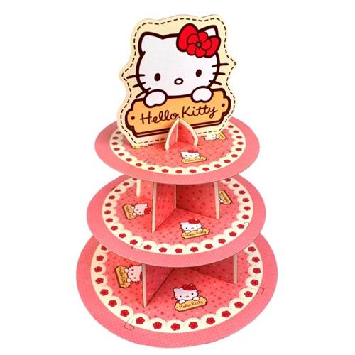 Hello Kitty Temalı Cupcake Standı