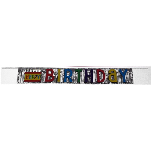 Happy Birthday  Yazılı Banner