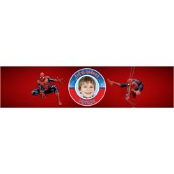 Spiderman Temalı Kişiye Özel Su Bandı