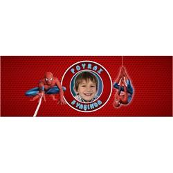 Spiderman Temalı Kişiye Özel Peçetelik