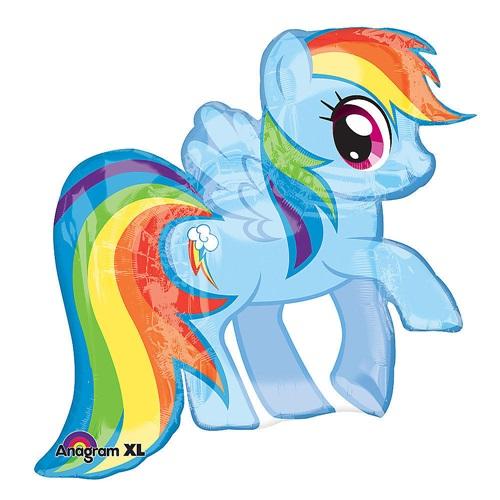 Gökkuşağı Pony Folyo Balon