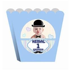 Küçük Adam Kişiye Özel Popcorn Kutusu