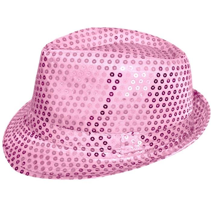 Pembe Pullu Parti Şapkası