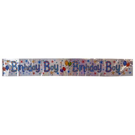 Birthday Boy Banner