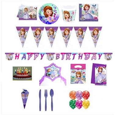 Sofia  Doğum Günü Parti Seti