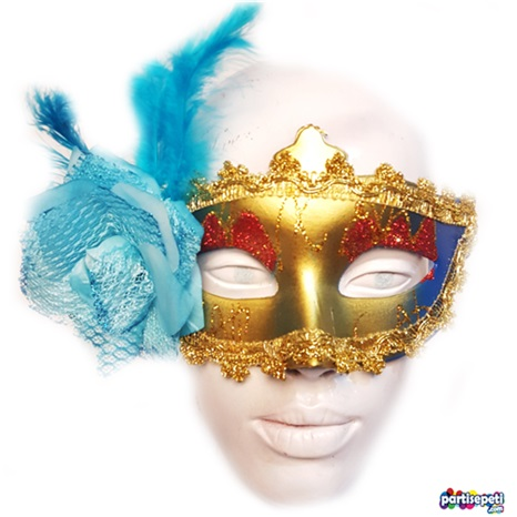 Balo Maskesi Gold