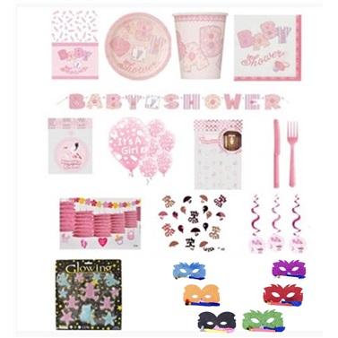 Baby Shower Kutlama Seti 24 Kişilik