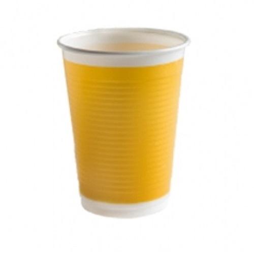 Sarı Plastik Bardak 10 Ad