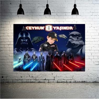 Star Wars Kişiye Özel Afiş