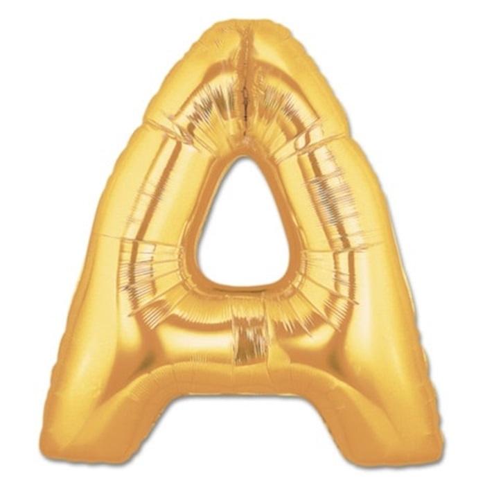 A Harf Folyo Balon Gold