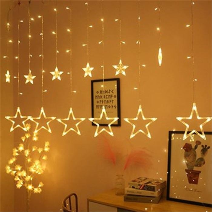 Yıldız Led Işık Saçak Led  Işık