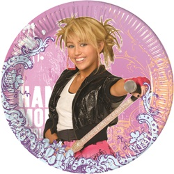 Hannah Montana Temalı Backstage Tabak 23 Cm ( 10 Adet )