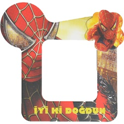 Spiderman Temalı Magnetli Çerçeve