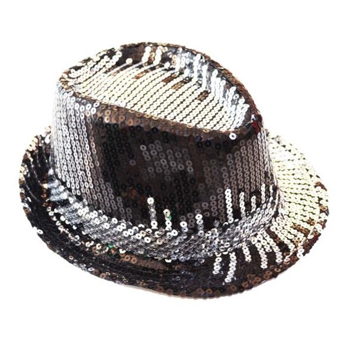 Ritim Pullu Gümüş Parti Şapka