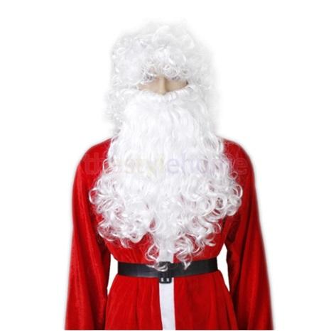 Yılbaşı Noel Sakal Uzun