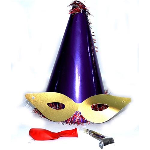 Yılbaşı Katyon Şapka / Mor