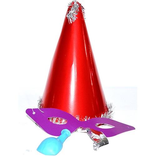 Yılbaşı Katyon Şapka / Kırmızı