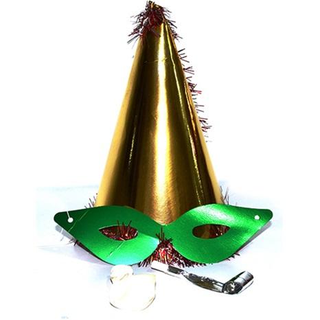 Yılbaşı Katyon Şapka / Gold