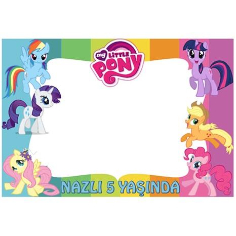 Pony Kişiye Özel Çerçeve