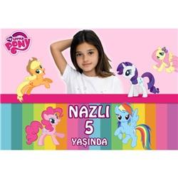 Pony Kişiye Özel Duvar Panosu