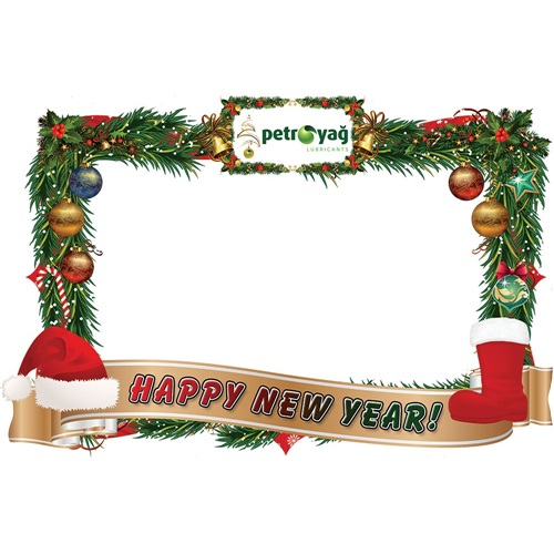 Yeni Yıl Kişiye Özel Çerçevesi