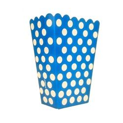 Lacivert Puanlı Popcorn