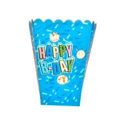 Happy Birthday Popcorn Kutusu