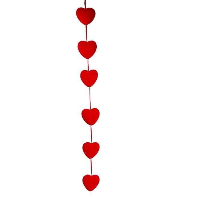 Sevgililer Günü Kalp Sarkıt Süs