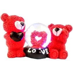 Sevgililer Günü Ayıcıklar Küre Süs