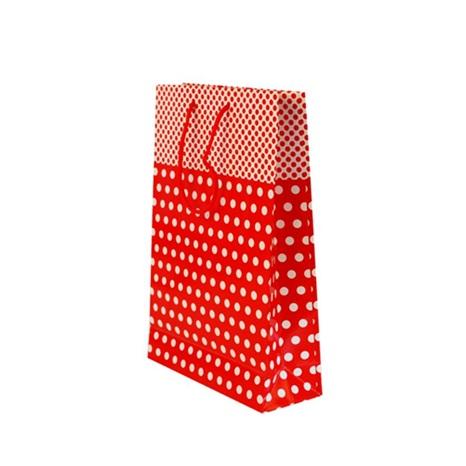 Kırmızı Puanlı Çanta