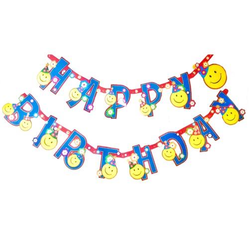 Gülen Yüz Happy Birthday Yazı