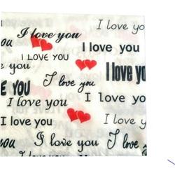 I Love You Peçete