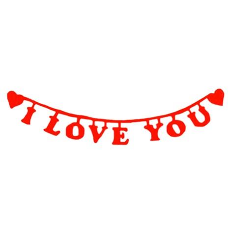 Sevgililer Günü I love You Yazı