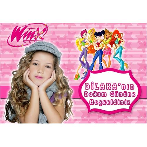Winx Kişiye Özel Duvar Panosu