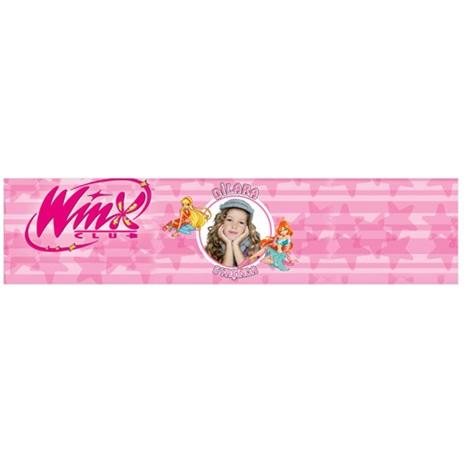 Winx Kişiye Özel Su Şişe Bandı