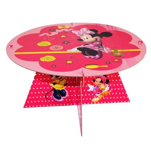Minnie Mouse Temalı Pasta Cupcake Standı