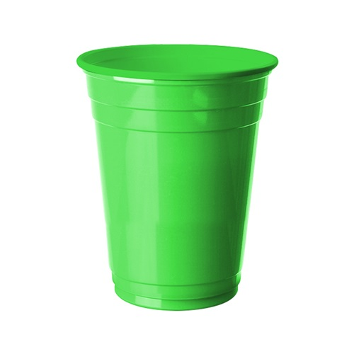 Yeşil Büyük Plastik Bardak