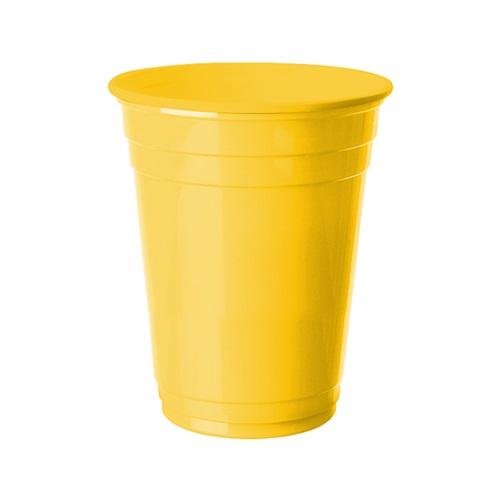 Sarı Büyük Plastik Bardak