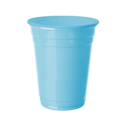 Açık Mavi Büyük Plastik Bardak