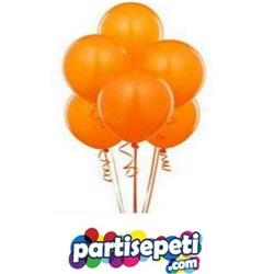 Turuncu Düz Latex Balon