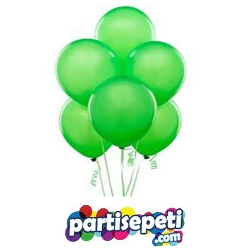 Yeşil Düz Latex Balon