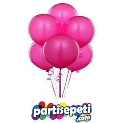 Fuşya Düz Latex Balon 100 Ad