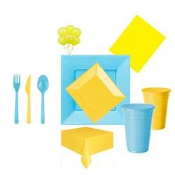 Sarı Mavi Parti Seti